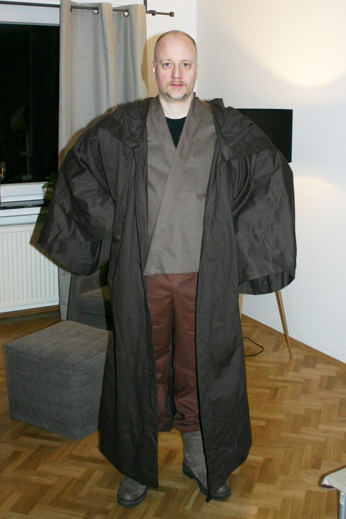 Die Jedi-Robe – Jens\' Webseite
